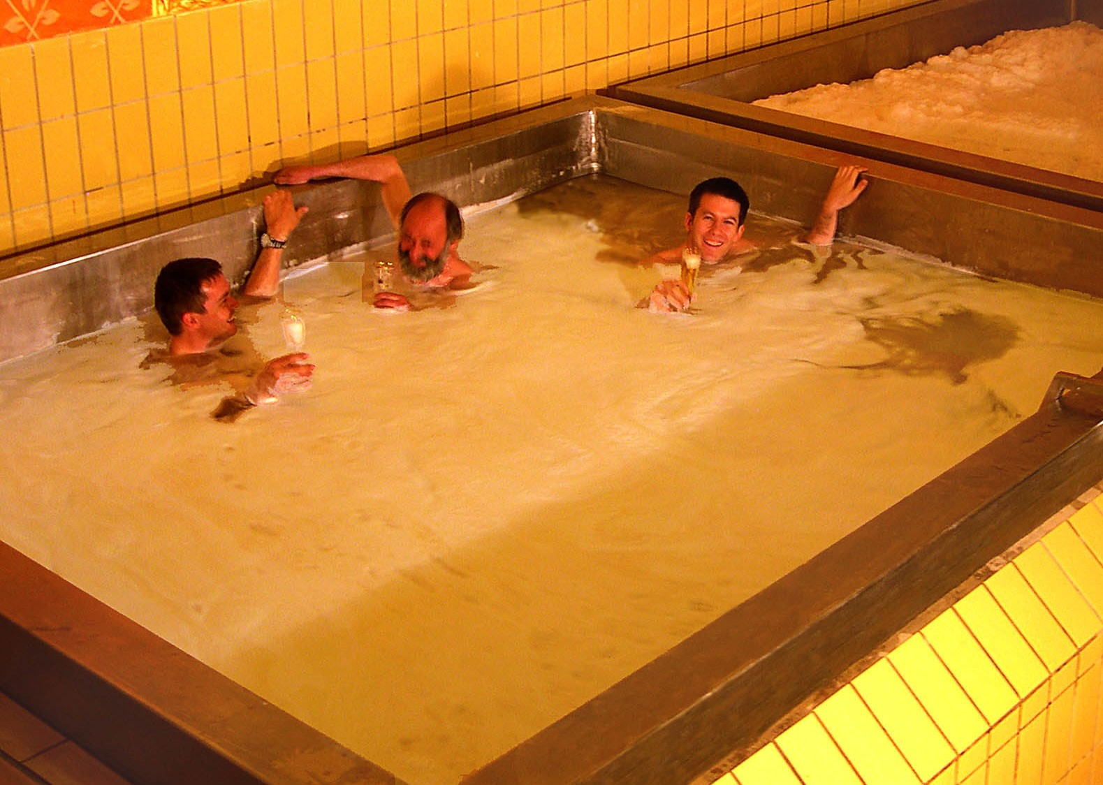 In austria you can swim in a pool made of beer awol - Swimming pool swimming pool swimming pool ...