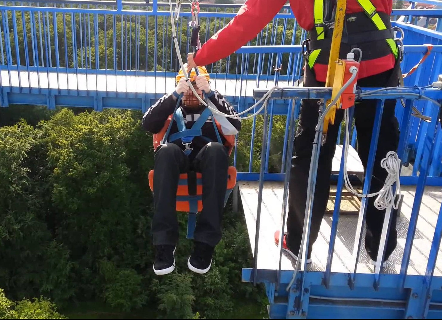 Denmark's Sky Tower Is Probably The Scariest Ride In The World