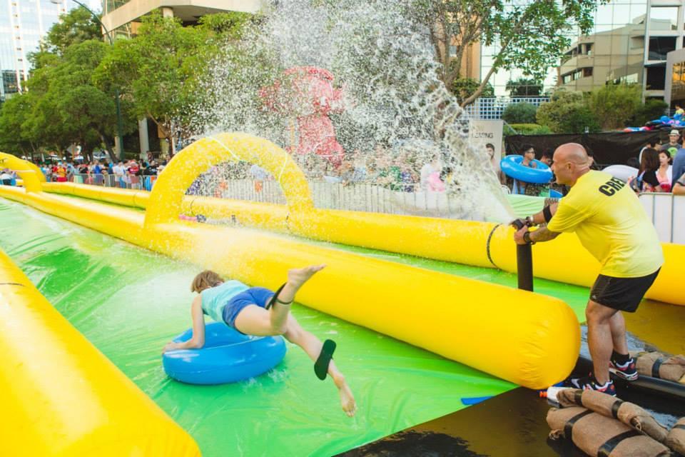 Giant slip 39 n 39 slide coming to sydney adelaide melbourne for Pool show 2015 sydney
