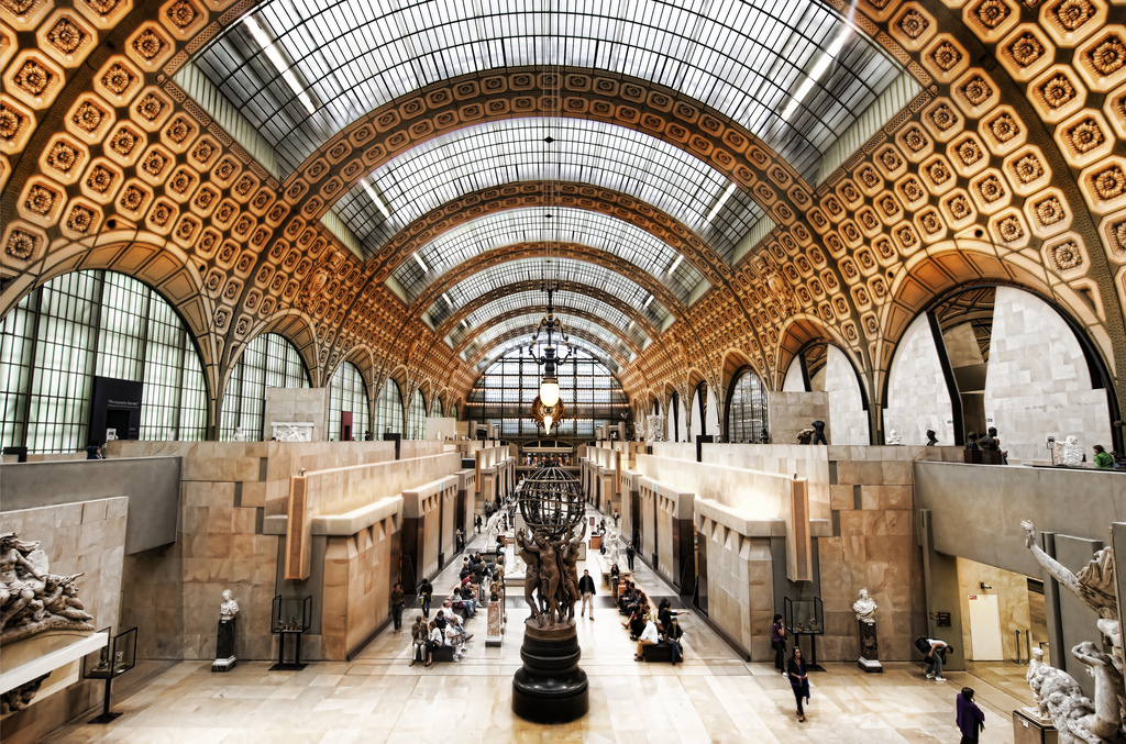 D Cinema Exhibition : Why the musée d orsay beats pants off louvre