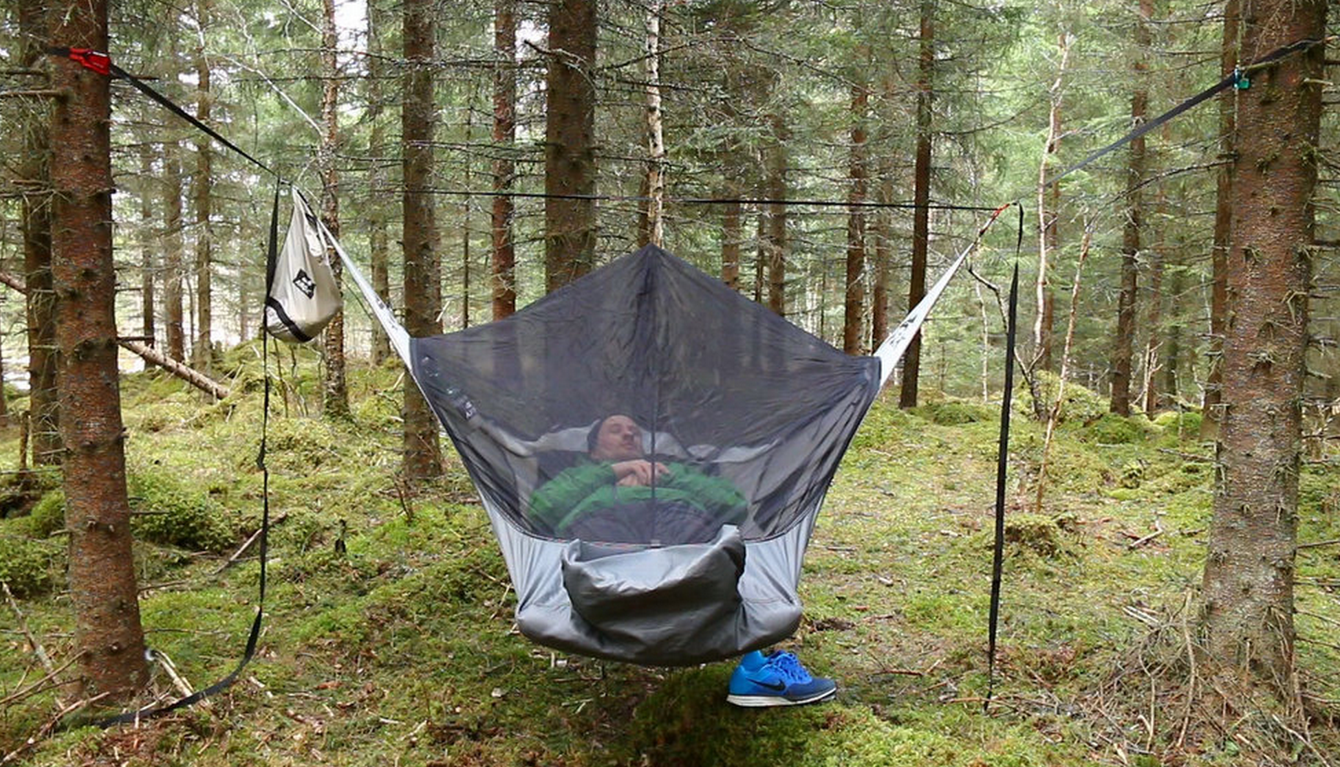 how to get out of a hammock