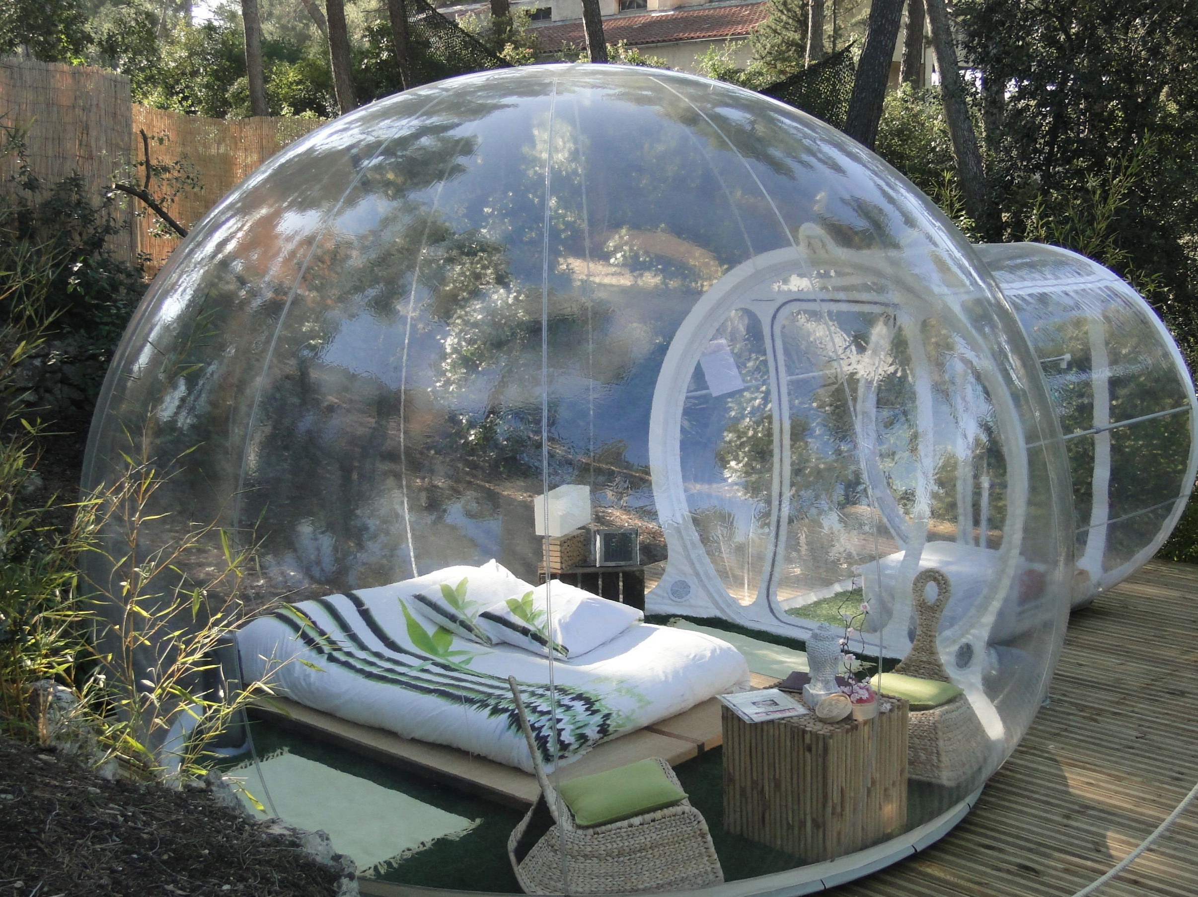 & You Can Sleep In A Bubble In This French Hotel