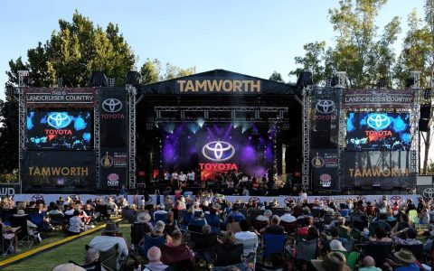 Znalezione obrazy dla zapytania tamworth country music festival