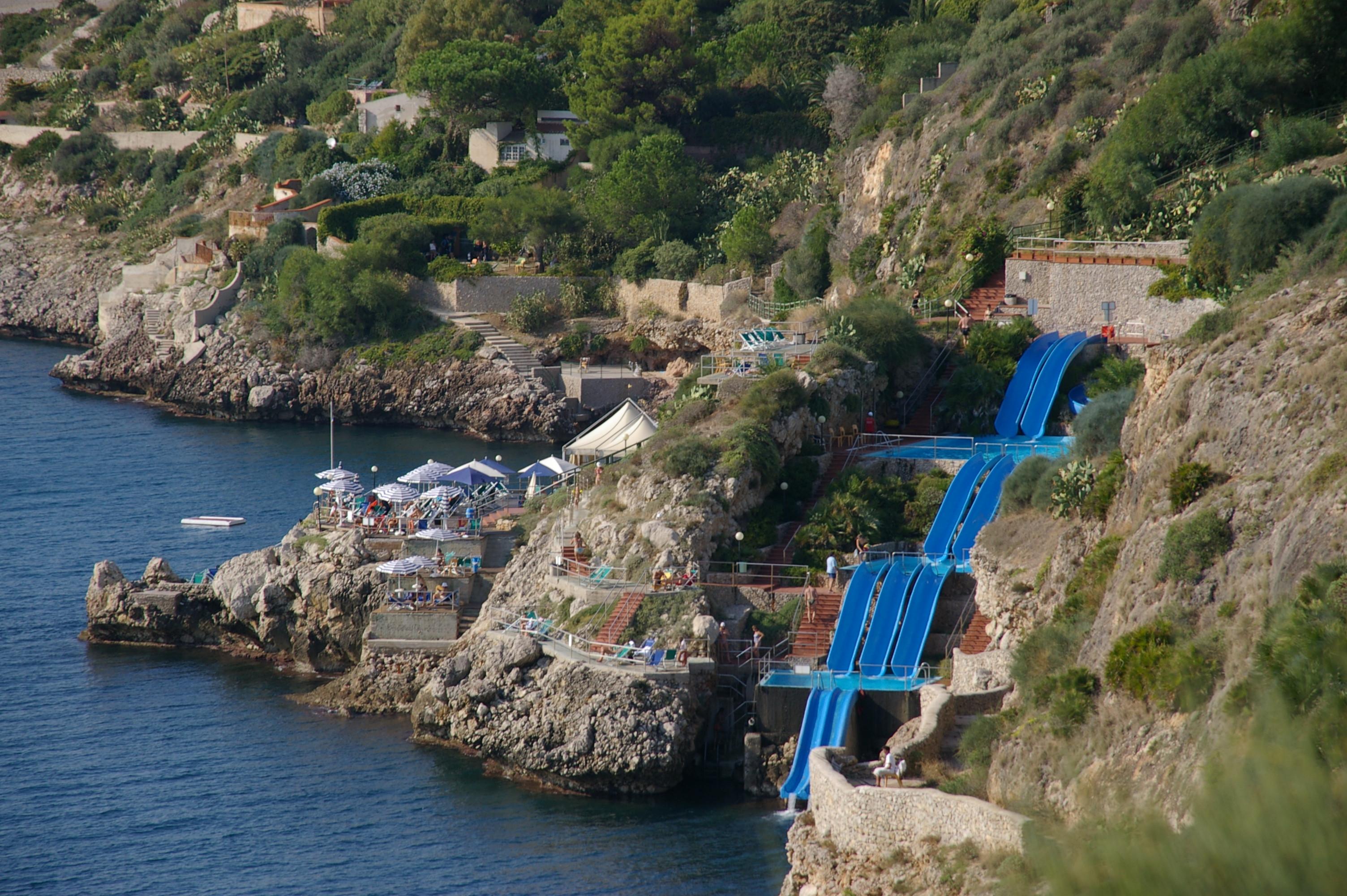 Citta Del Mare Hotel's Water Slide Drops You Straight Into ...