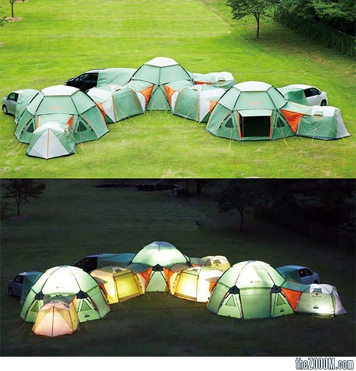 Weu0027ve Found The Tent To End All Tents & Decagon Modular Tent - Amazing Home Decors and Interior Design ...