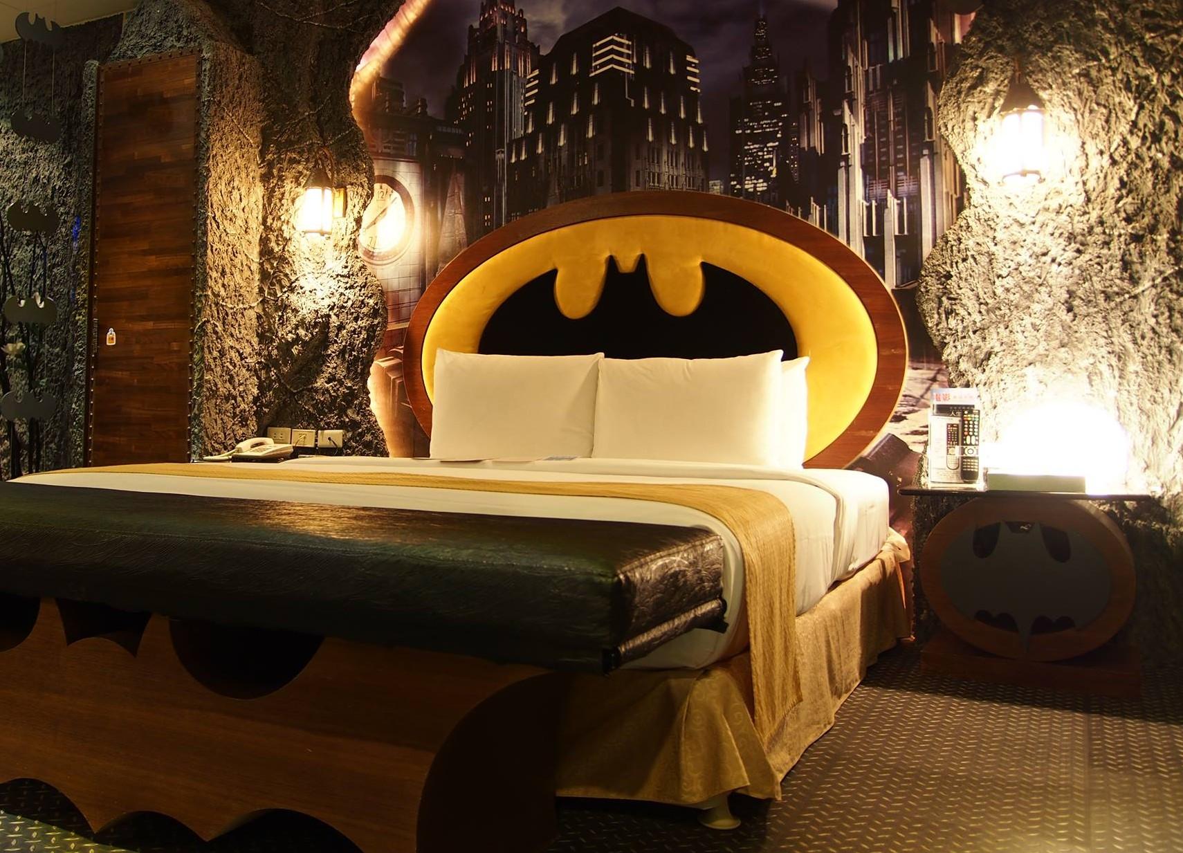 batman themed hotel in taiwan 2018 world s best hotels