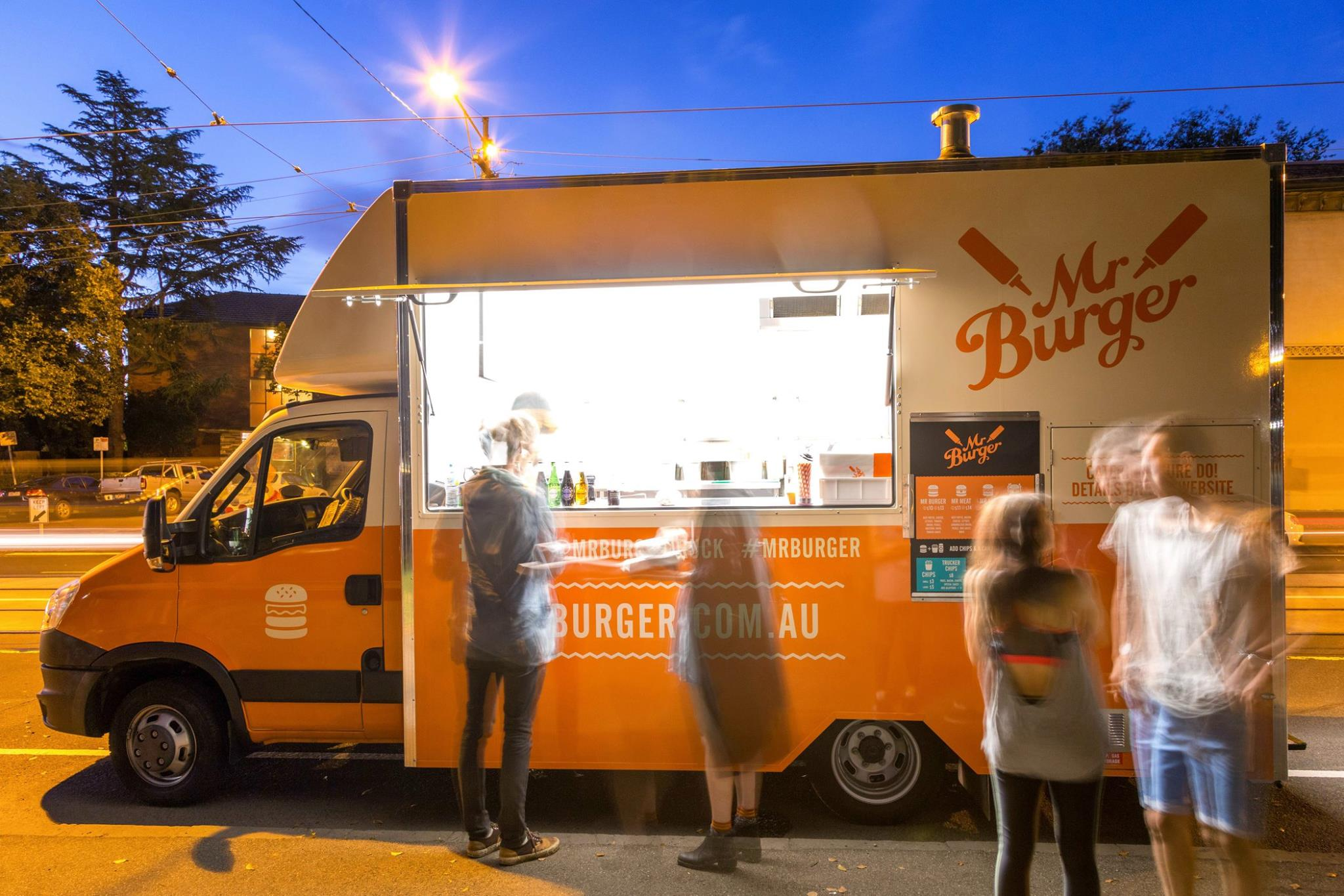 Austin Burger Food Truck