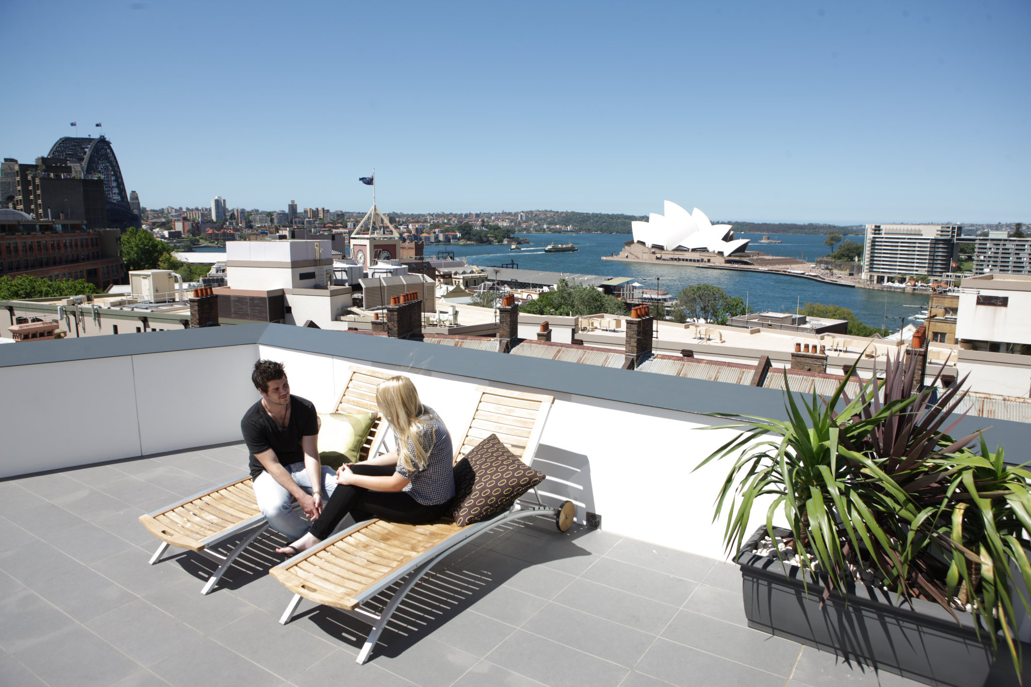 australia hostel: