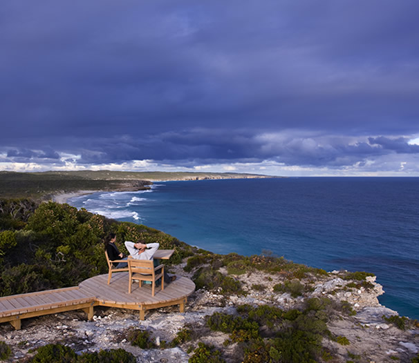 Kangaroo Island: Wish You Were Here: Southern Ocean Lodge, Kangaroo Island