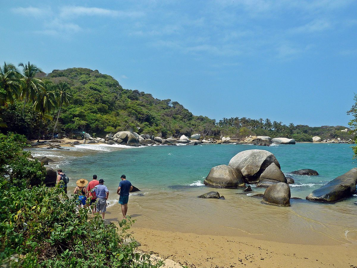 Wish You Were Here Tayrona National Park Colombia