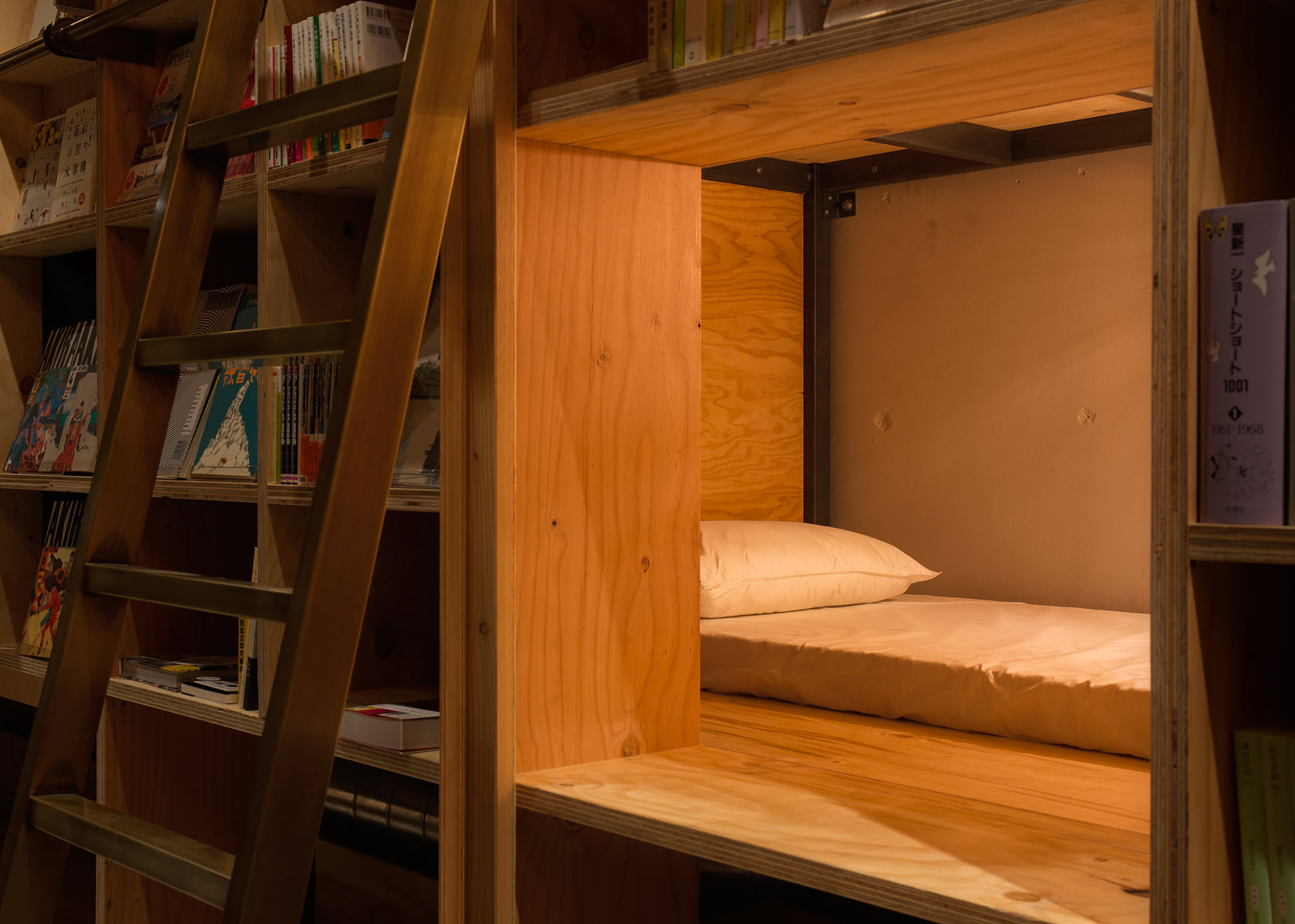 read yourself to sleep at this new tokyo bed and book hostel