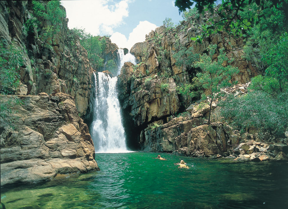 Pop In For A Swim At The Southern Rockhole At Nitmiluk