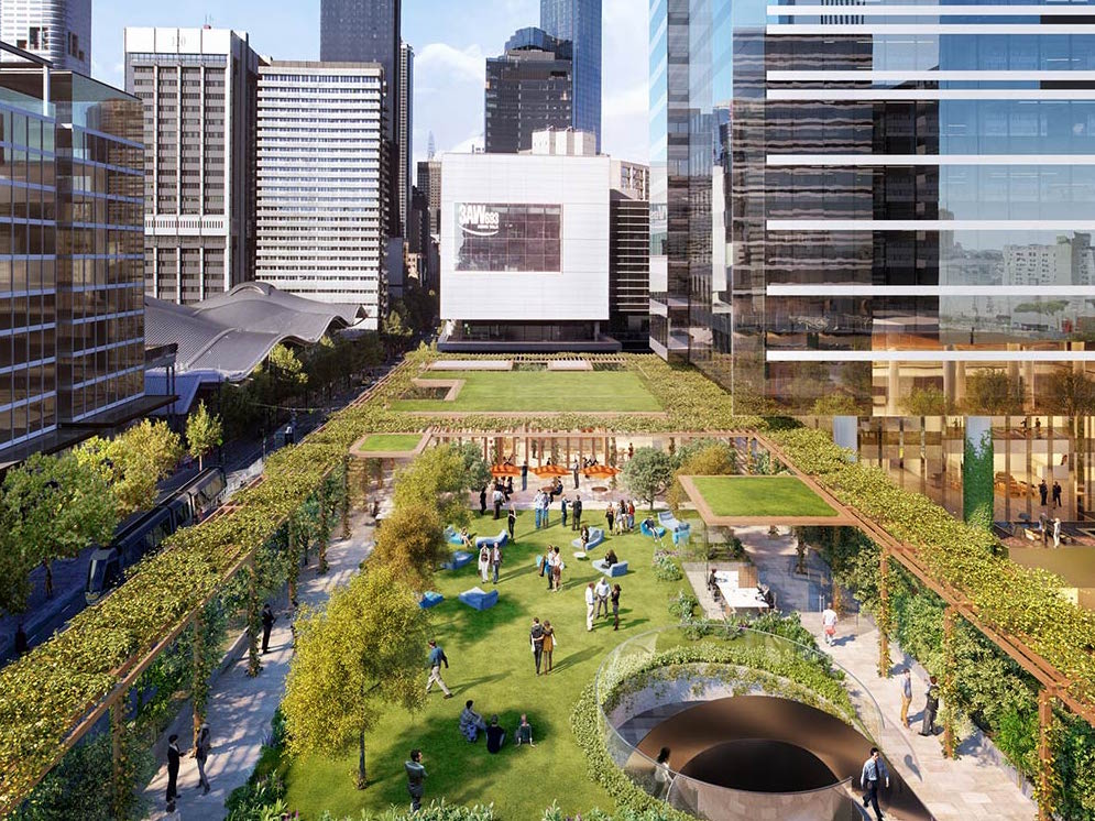 Melbourne S Getting An Inner City Park On A Rooftop Awol