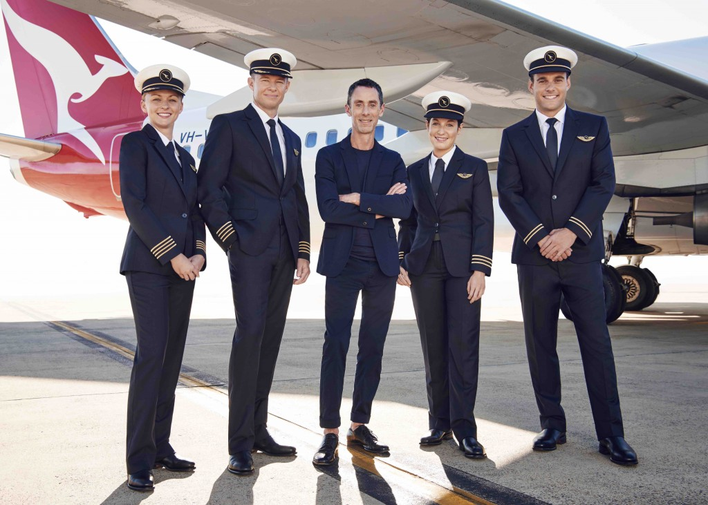 The New Qantas Pilot Uniforms Have Been Unveiled