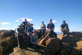 Group on MT Ossa