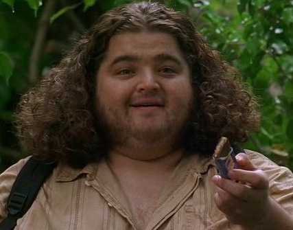hurley went back to the lost island and it was pretty cute