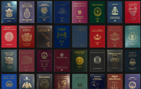 Online passport index on AWOL