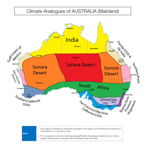 An Elegant And Sustainable Florida Home With Fantastic Views: Reddit's Fascinating Map Shows Australia's 'Climate Twins
