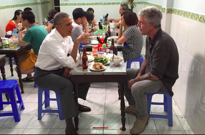 We Reviewed The Restaurant Where Obama & Bourdain Ate In Vietnam