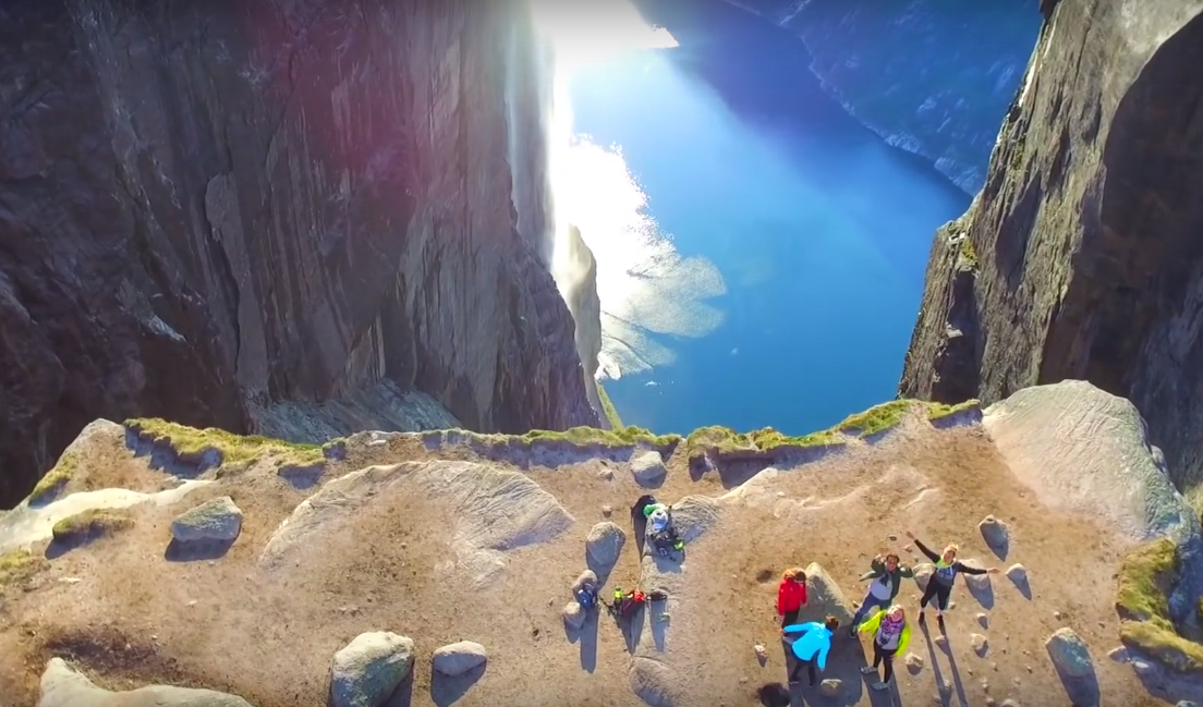 This Drone Footage Of Norway's Fjords Is Making Us Feel Things