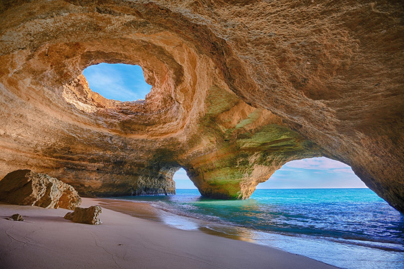 Cave Beach In Portugal Proves Nature Is The Absolute Best