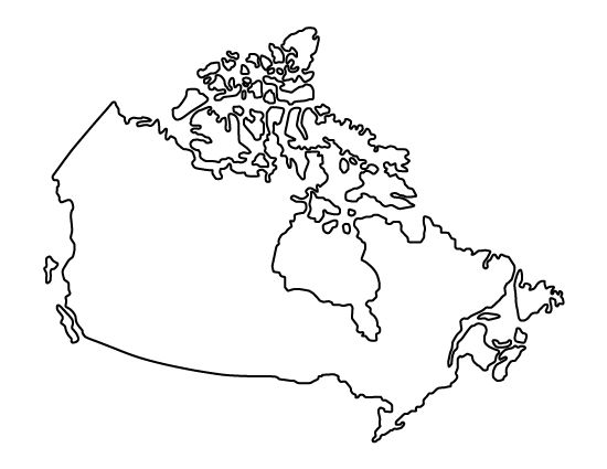can you identify these places from their outlines alone