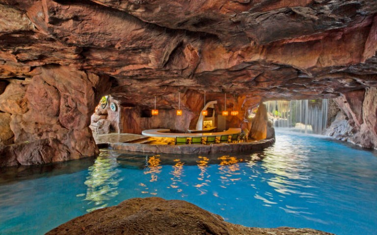 cool pools with caves - Cool Pools With Caves