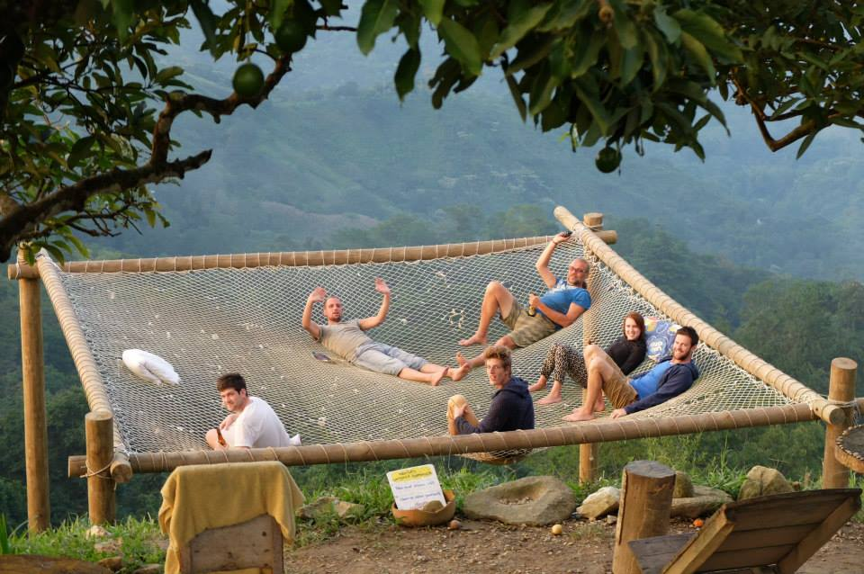 The World S Largest Hammock Is In A Colombian Hostel
