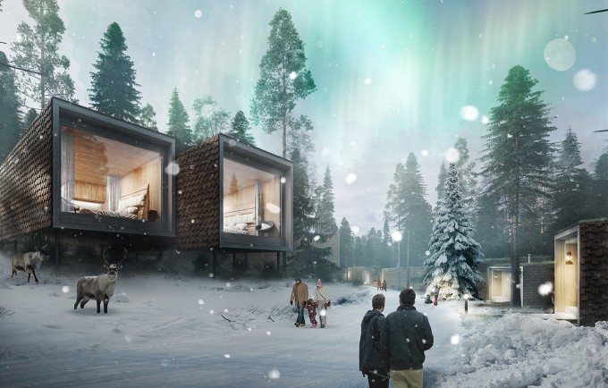 The North Pole Is Getting A Ridiculously Luxe Boutique Hotel