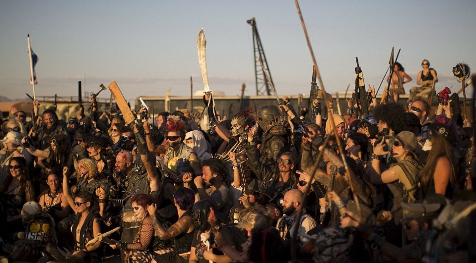 a mad max festival happened amp it looked pretty unreal