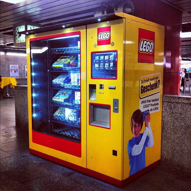 Lego Vending Machine That Works Keninamas