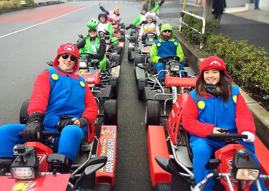 Christmas Mario Kart.Tokyo Tour Company Maricar Offers Mario Kart Go Kart Tours