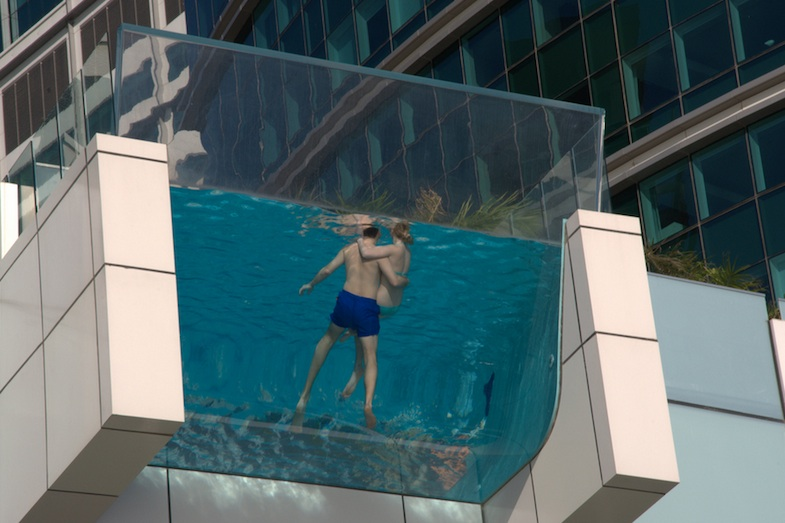 This Glass Bottomed Hotel Pool Is A Big Old 39 Nope 39
