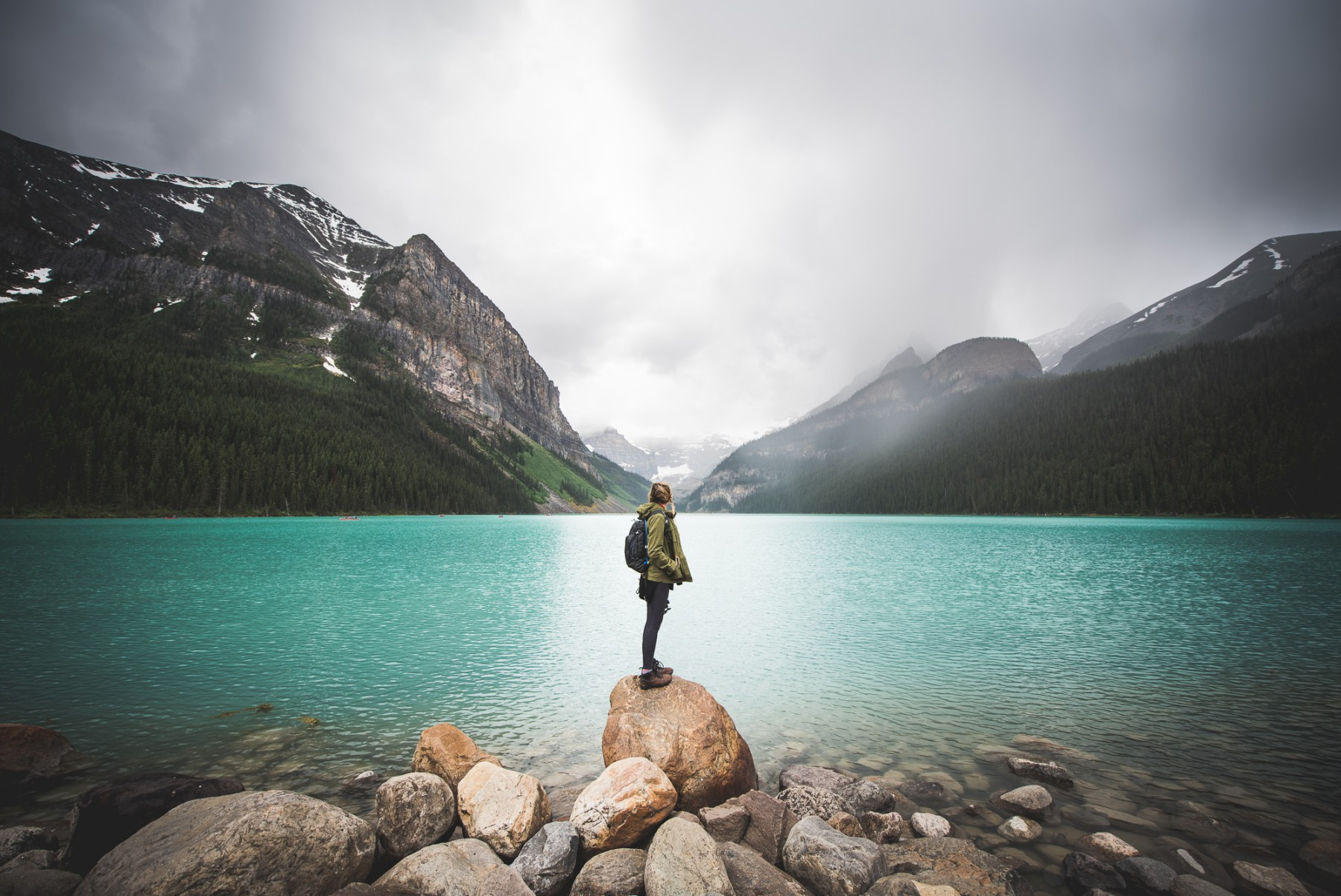 Lake Louise And Moraine A Field Guide To Canada S Most