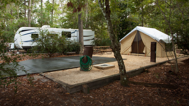 Did You Know That You Can Actually Camp At Disney World