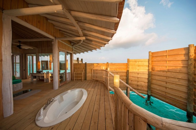 At Soneva Jani Maldives Slide Straight From Your Room