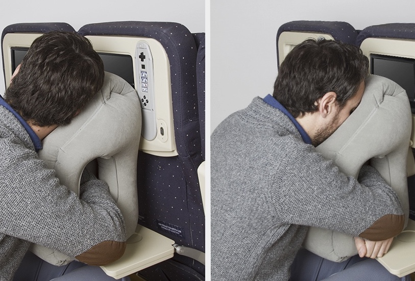 This Travel Pillow Is Perfect For Bobblehead Sleepers