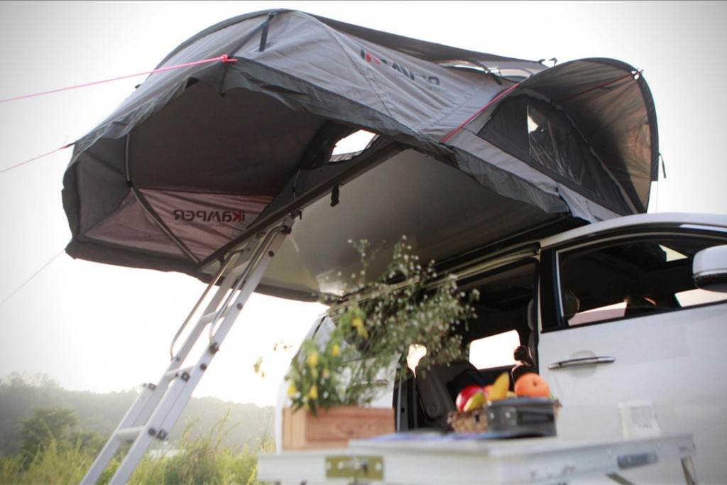 This Roof Top Tent Is Here To Revolutionise Your Road Trip