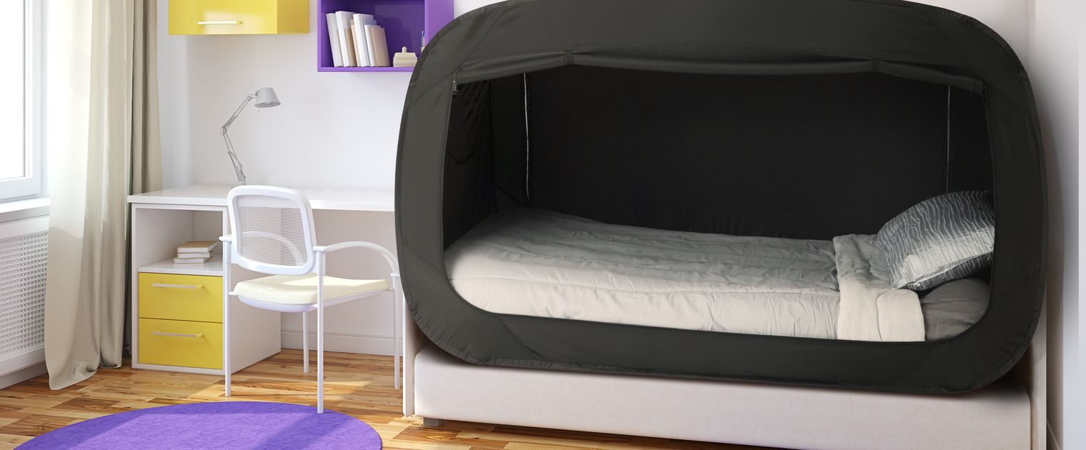 Want Privacy In Your Shared Dorm Room Try This Bed Tent