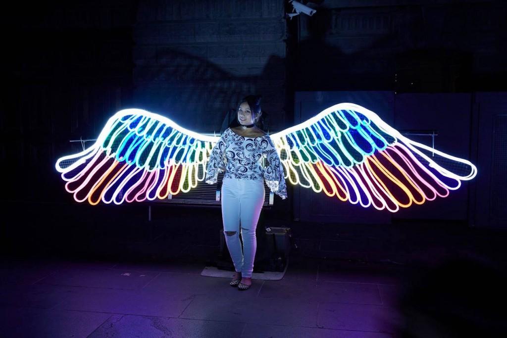 melbourne interactive exhibition neon light coming lights ziegler lauren may