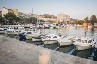 Crikvenica, small city in Croatia.