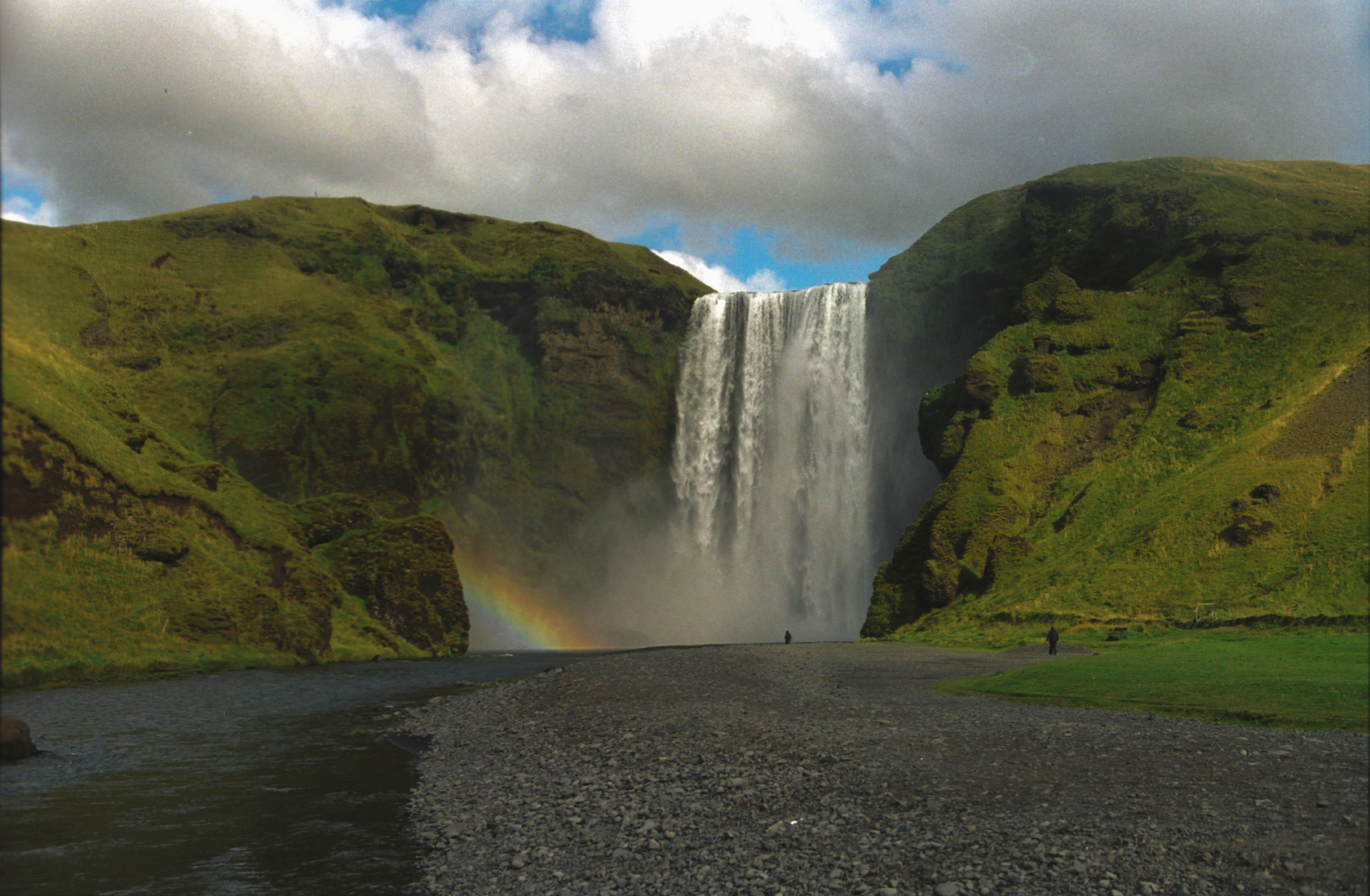 Iceland Is Putting On A Music Festival At The Base Of This Idyllic Waterfall