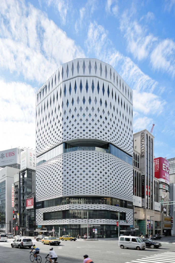 You Need To See This Stunning Origami Inspired Building In Tokyo