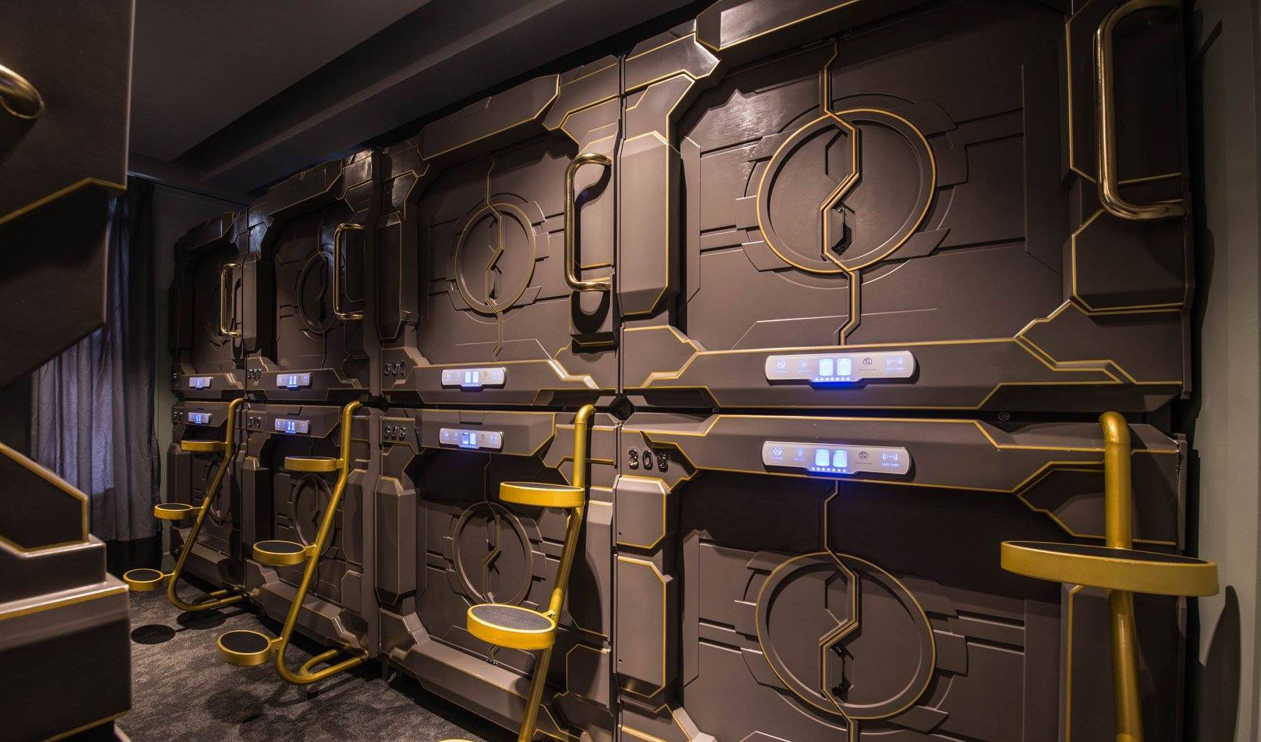 you have to see pictures from sydney s newly opened capsule hotel