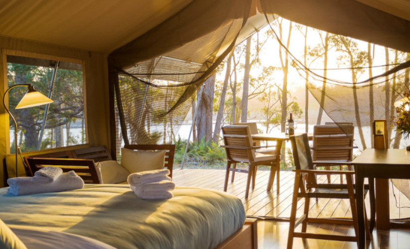 Tanja Lagoon C& WEB & The Definitive Guide To Australiau0027s Best Off-Grid Glamping Spots