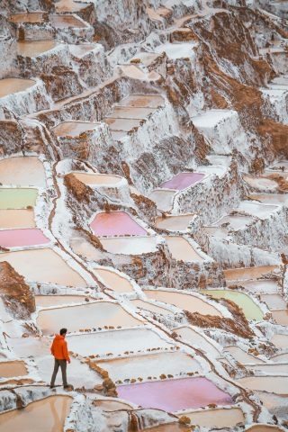 Salt ponds Cuzco