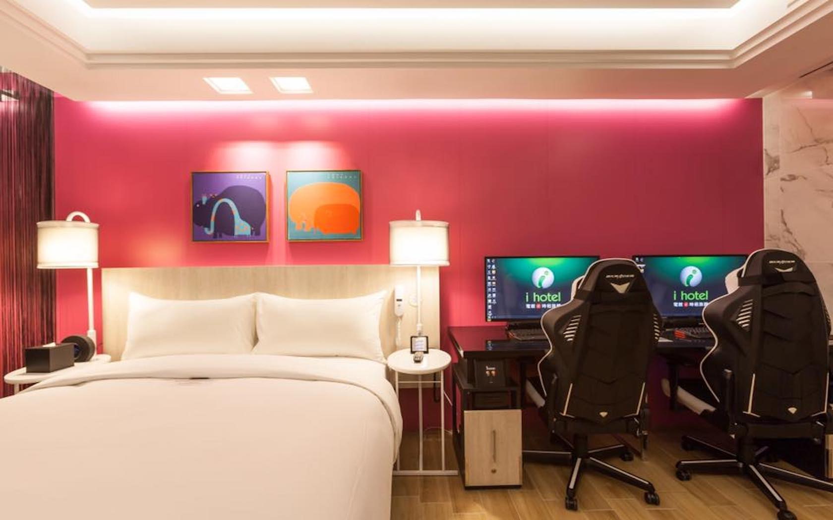 Gamer S Delight Taiwan China S Ihotel Has Gaming