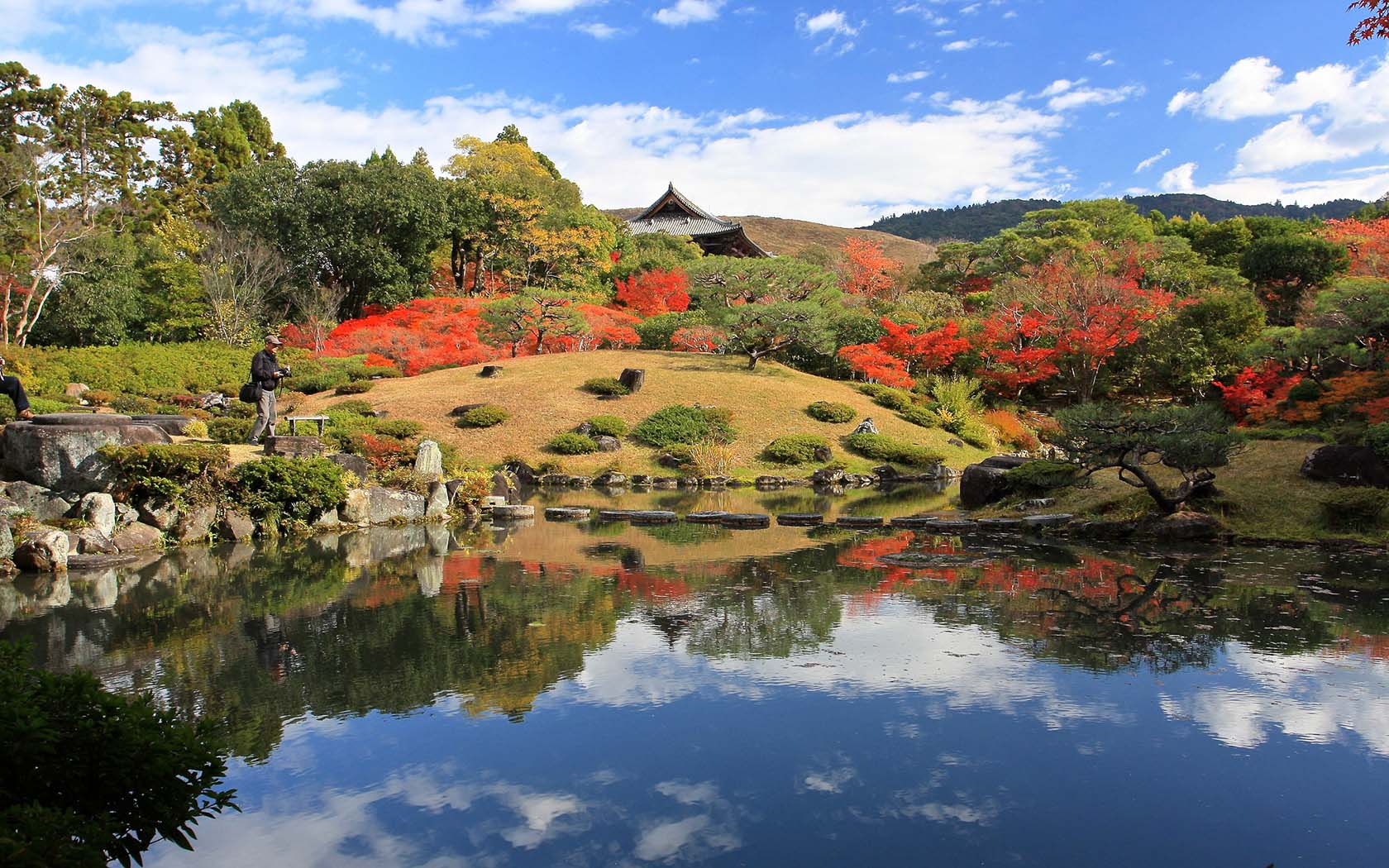 Japan\'s Isuien Garden Provides Peaceful Respite From Its Busiest ...