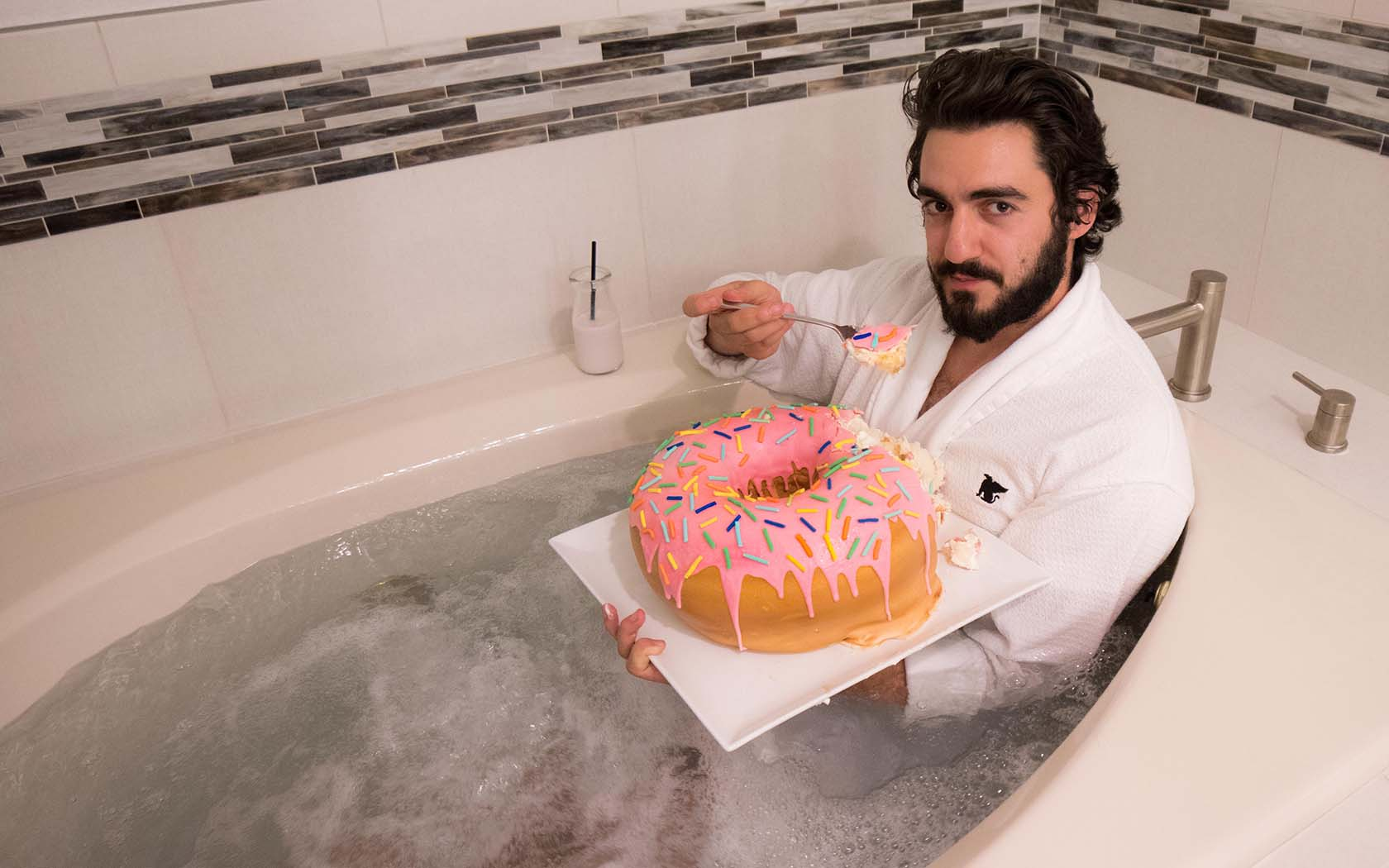 Bathtub Cake Layer