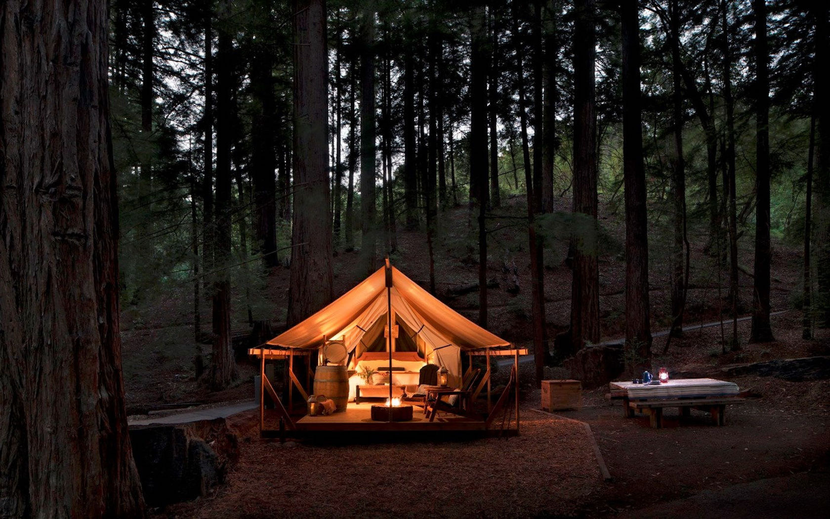 Let Big Sur's Luxurious New Glamping Set-Up Fuel Your Wanderlust